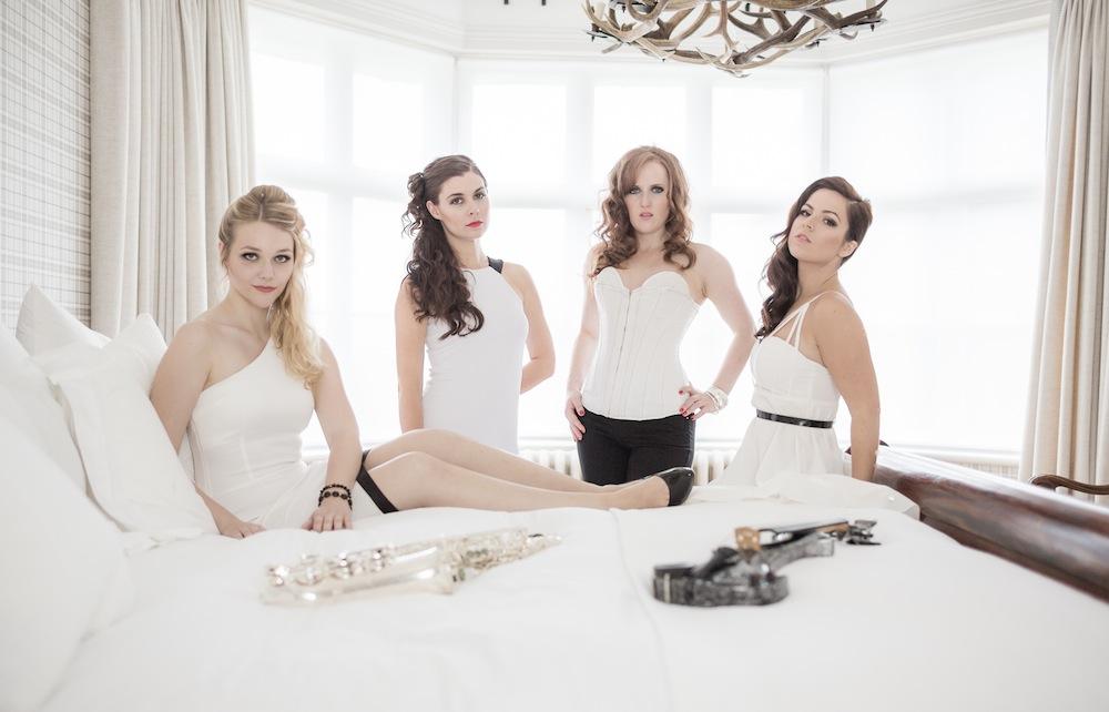 electric string quartet show hire sahara